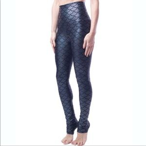 Emily HSU Designs Onyx shimmer leggings